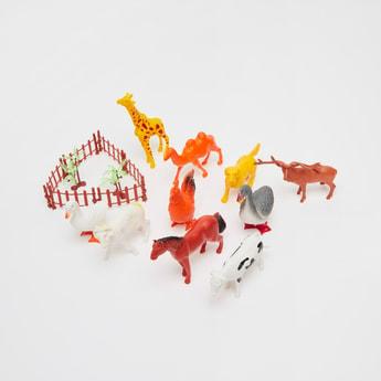مجموعة تماثيل حيوانات
