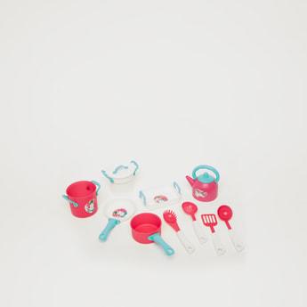 مجموعة ألعاب أدوات الشاي والمطبخ