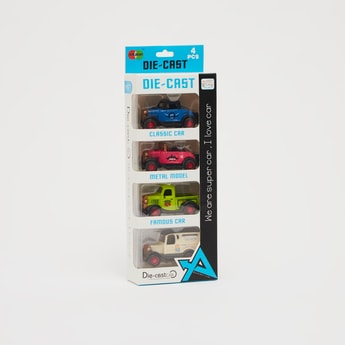 مجموعة ألعاب سيارات من داي كاست