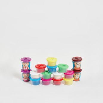 Happy Colour Mud 16-Piece Dough Set