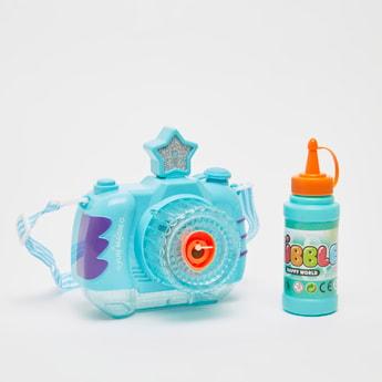 Camera Shaped Bubble Blower