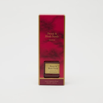 Peony and Blush Suede Reed Diffuser - 100 ml