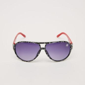 نظارة شمسية بلاستيكية بإطار بطبعات