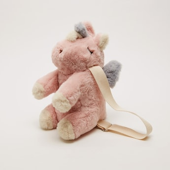 Plush Hippo Soft Toy Backpack