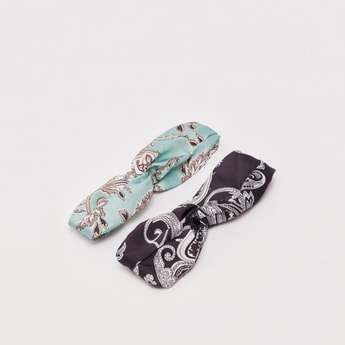 Set of 2 - All-Over Print Headband