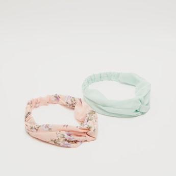 Set of 2 - Knot Detail Headband