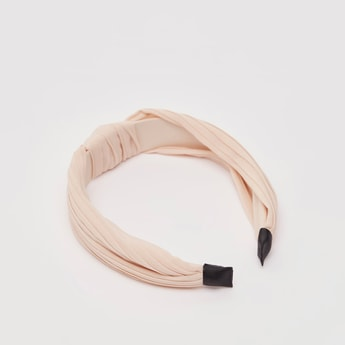 Hairband with Twisted Knot Accent
