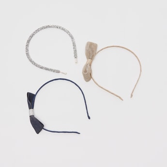 Set of 3 - Textured Hairbands