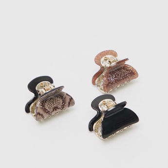 Set of 3 - Assorted Hair Clamp