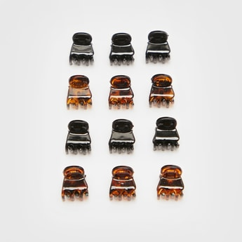 Pack of 12 - Solid Hair Clamp