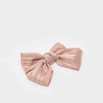 Bow Applique Detail Hairpin