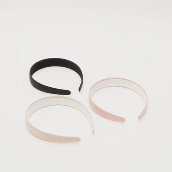 Pack of 3 - Solid Broad Hairbands
