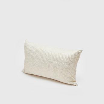 Textured Filled Cushion - 50x30 cms