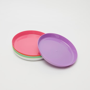 Pack of 6 - Solid Round Plates