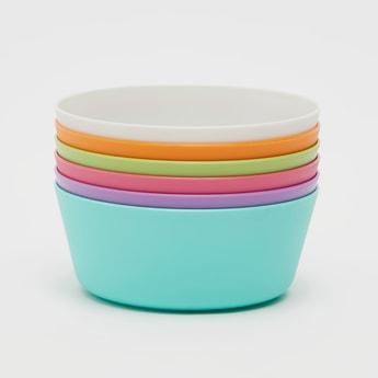 Set of 6 - Solid Bowls