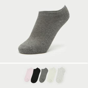 Pack of 5 - Solid Ankle Length Socks