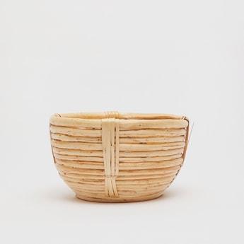 Textured Decorative Basket
