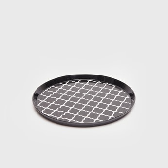 Printed Round Serving Tray