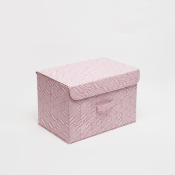 صندوق تخزين بطبعات - 38x25x25 سم