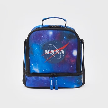 NASA Printed Lunch Bag with Zip Closure