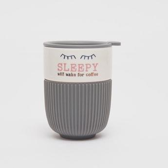Printed Travel Mug with Cap
