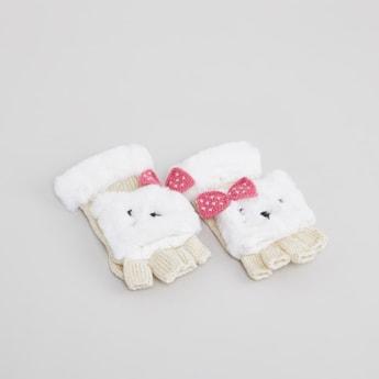 Applique Detail Winter Gloves
