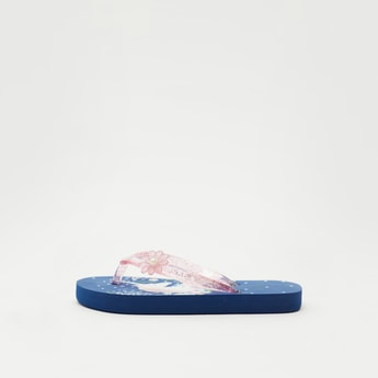 Unicorn Print Beach Slippers