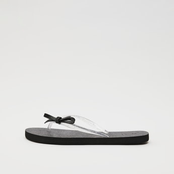Bow Detailed Flip Flops