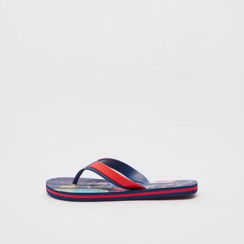 Slip-On Printed Flip Flops