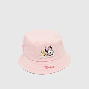 Minnie Mouse Applique Detail Hat