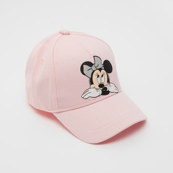 Minnie Mouse Print Adjustable Cap