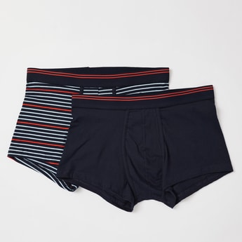 Pack of 2 - Assorted Hipster Briefs with Elasticised Waistband