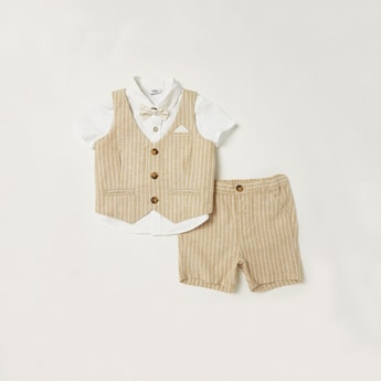 Striped 3-Piece Clothing Set