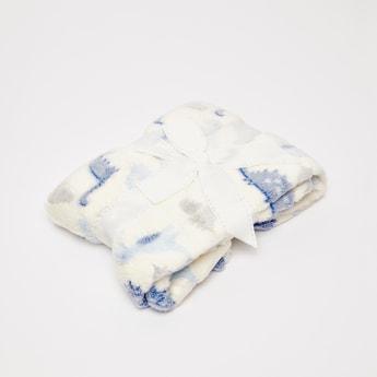 Dinosaur Scatter Print Fleece Blanket - 200x135 cms