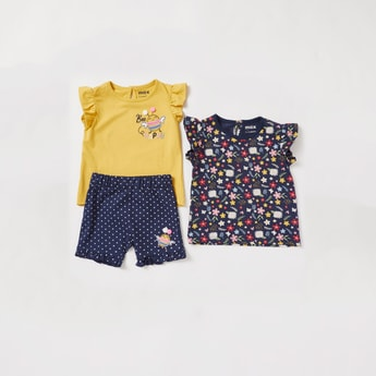 Printed 3-Piece Clothing Set