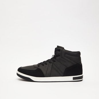 Mid Top Lace Up Boots