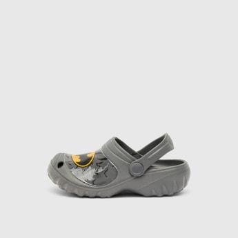 Batman Print Slip-On Clogs