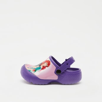 Princess Print Slip-On Clogs