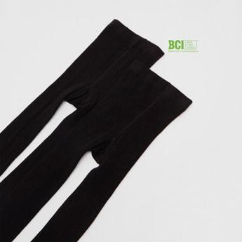 جوارب ضيقة سادة - طقم من زوجين