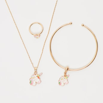 Unicorn 3-Piece Jewellery Set