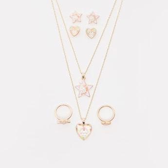 Metallic 8-Piece Jewellery Set