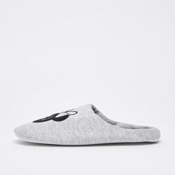 حذاء حفيف لغرفة نوم بتطريزات ميني ماوس