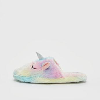Plush Unicorn Bedroom Slippers