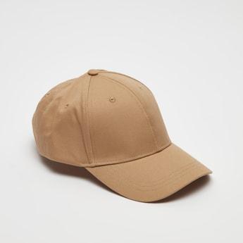 Solid Cap with Belt Buckle Adjustment