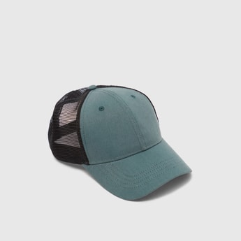Solid Mesh Baseball Cap