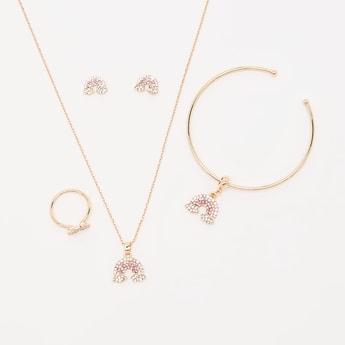 Studded Cloud 5-Piece Jewellery Set