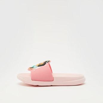 Jasmine Textured Open Toe Beach Slippers