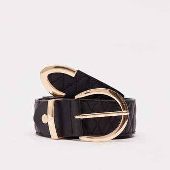 Textured Belt with Pin Buckle