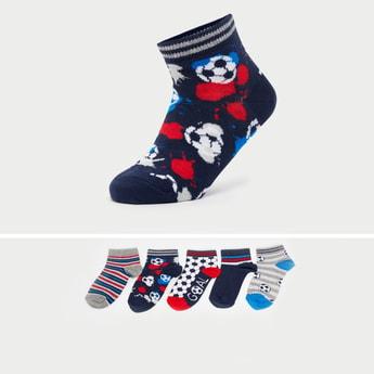 Set of 5 - Assorted Ankle Length Socks