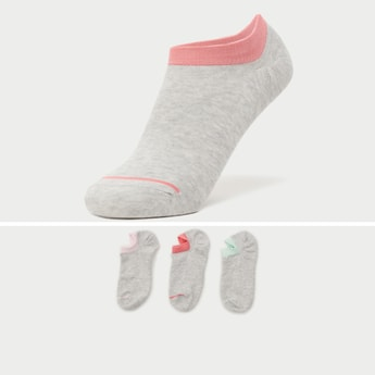 Set of 3 - Slip-On No Show Socks
